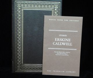 Stories. Erskine Caldwell.