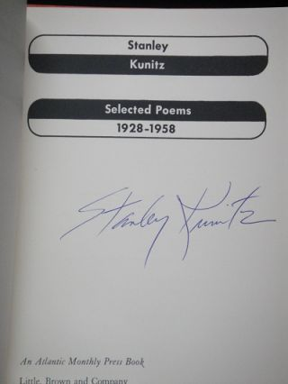 Selected Poems 1928-1958